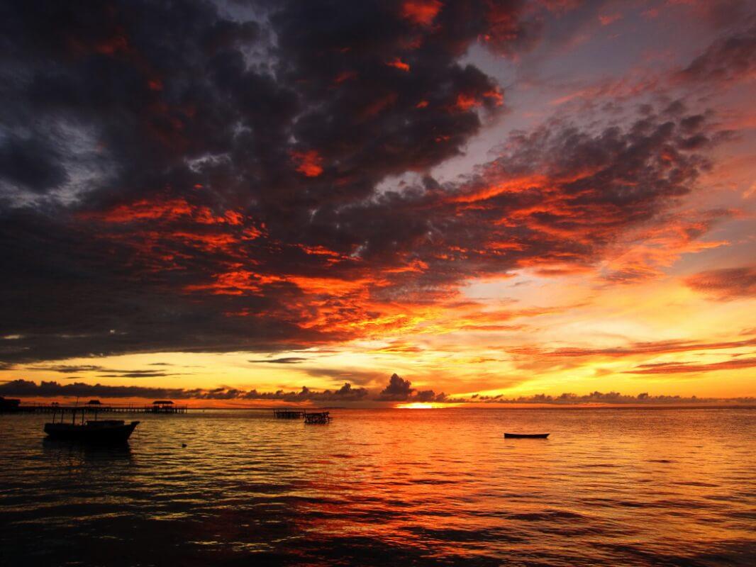 derawan sunset 1094
